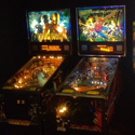 Play pinball machines on location in Iowa