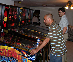 Pinball tournaments in Iowa City, Ainsworth, Ottumwa, Fort Dodge, Newton, Madison, Fairfield
