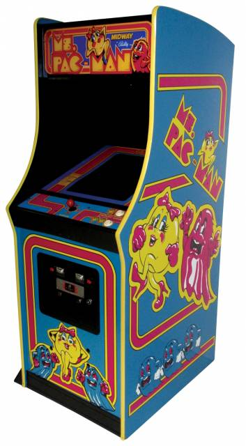 Video arcade game, Ms. Pac-man